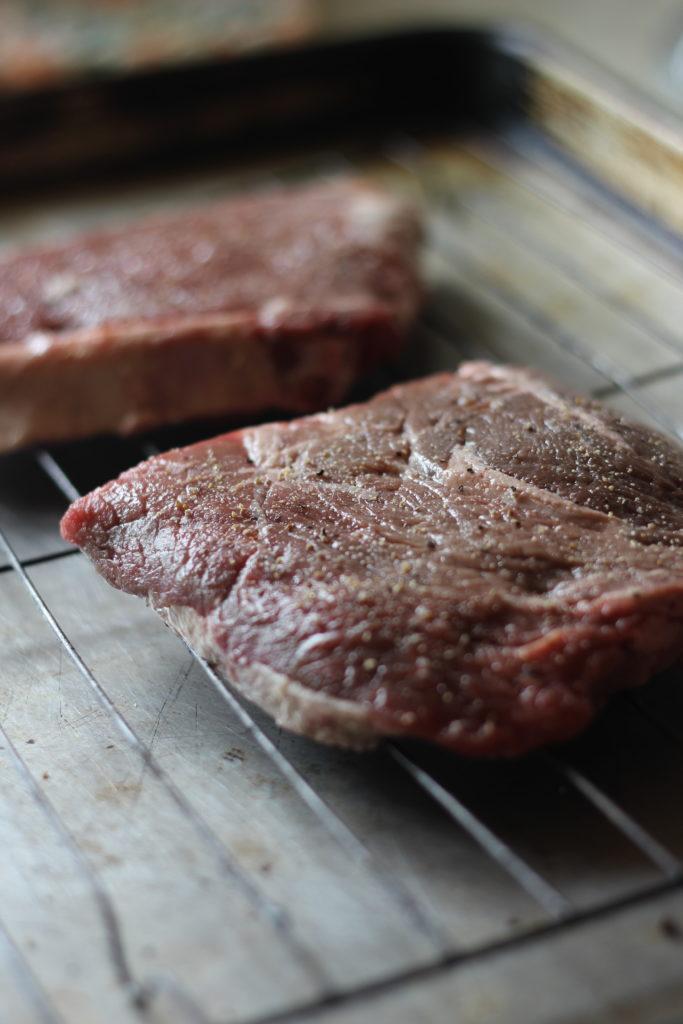 Sirloin steaks