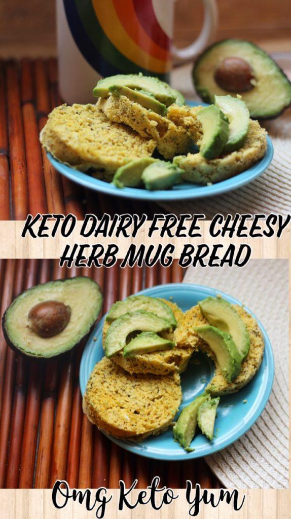 Dairy Free Mug Bread