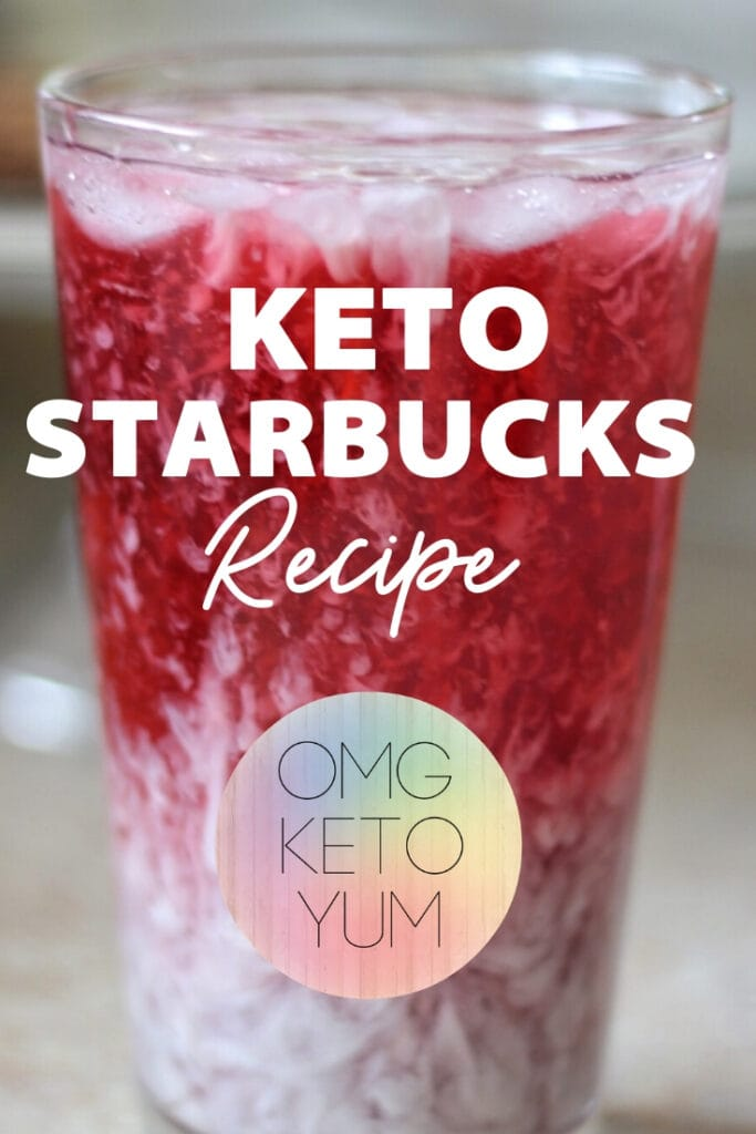 Zero Carb Starbucks Copycat Purple Drink is perfect for summer. Caffeine free keto bulletproof drink that will impress your friends!