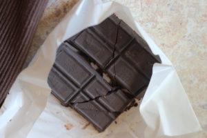 100 percent dark chocolate