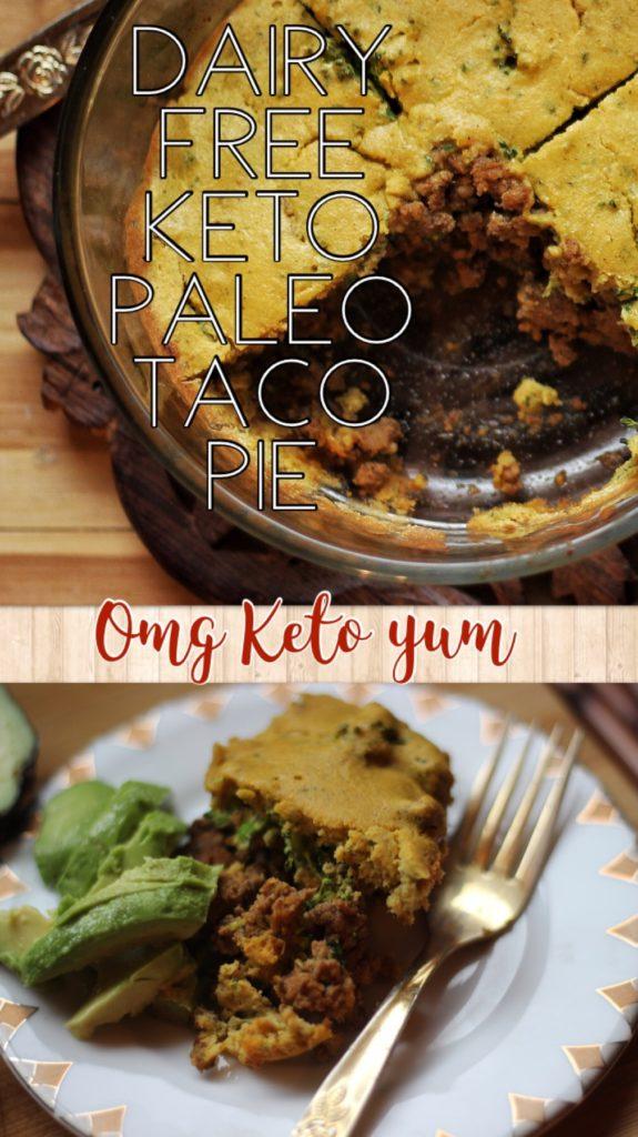 Keto taco Pie