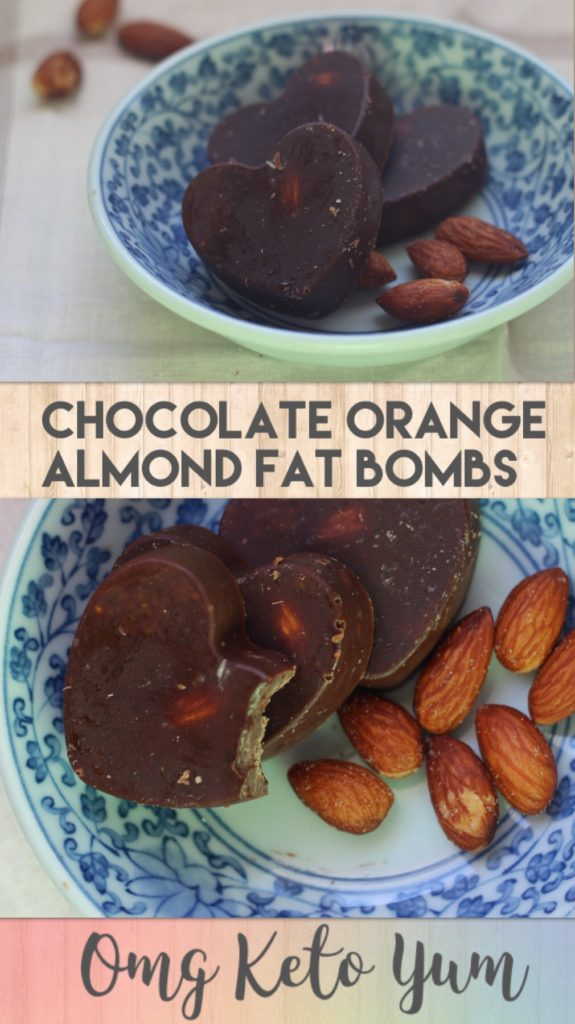 Chocolate Orange Almond Fat Bombs