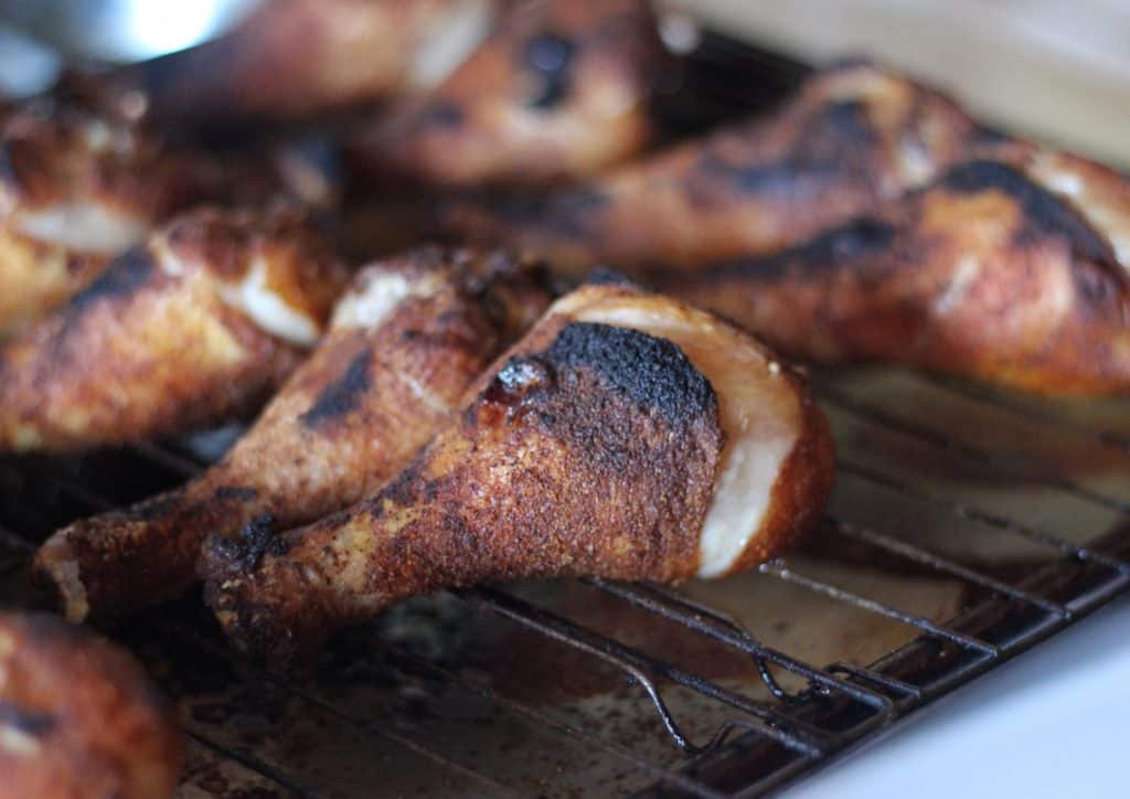 Chicken Drumsticks - Keto, paleo and under an hour