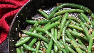 Sweet and Salty Green Beans