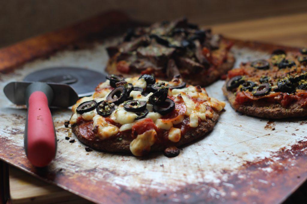 Keto paleo pizza