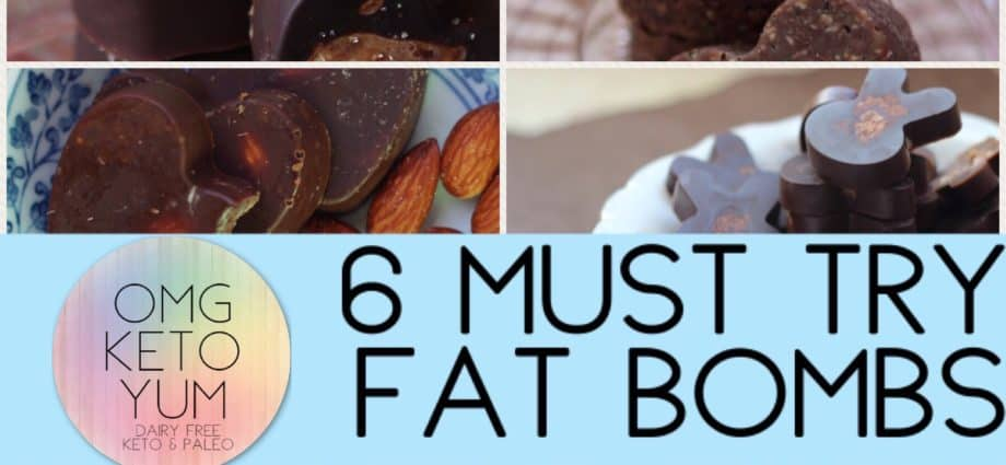 OMg kETO YUM 6 must try fat bombs