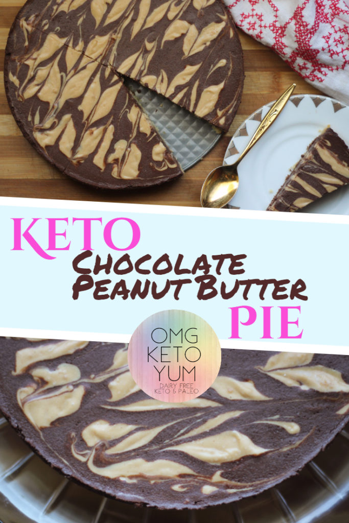 Chocolate Peanut Butter Pie OMG KETO YUM