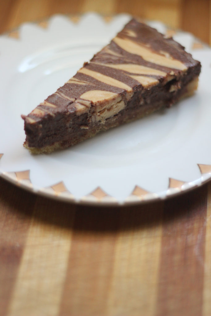 OMG KETO YUM Chocolate Peanut Butter Pie