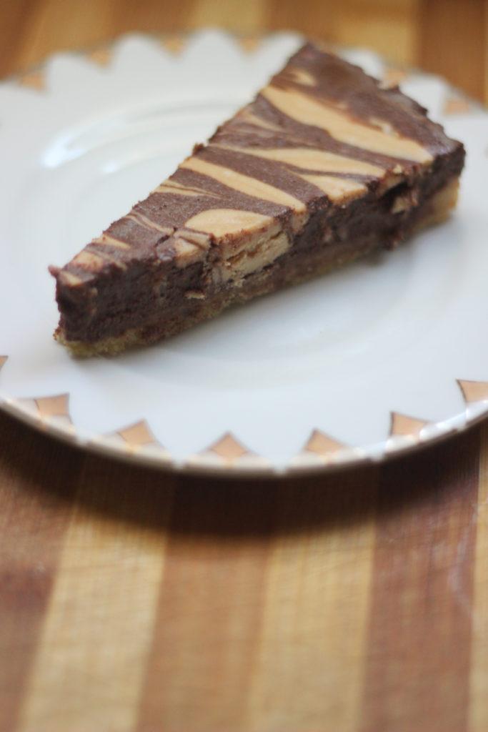 OMG KETO YUM Chocolate Peanut Butter Pie