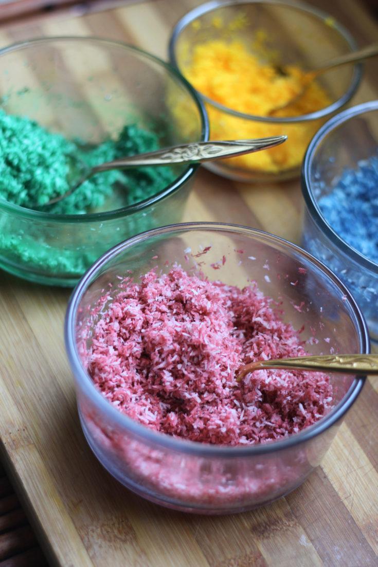 Easy Sugar Free Rainbow Sprinkles