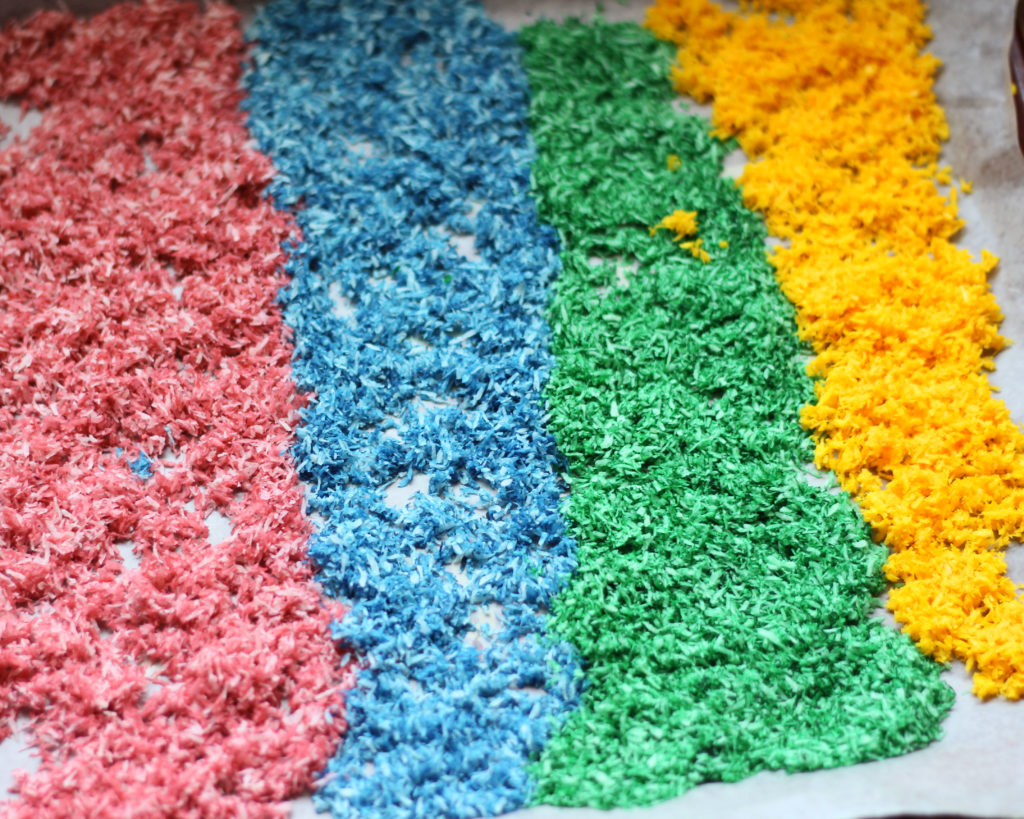 Keto and Paleo: Easy Sugar Free Rainbow Sprinkles