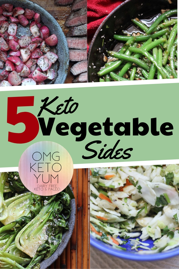 5 Keto Vegetable Sides