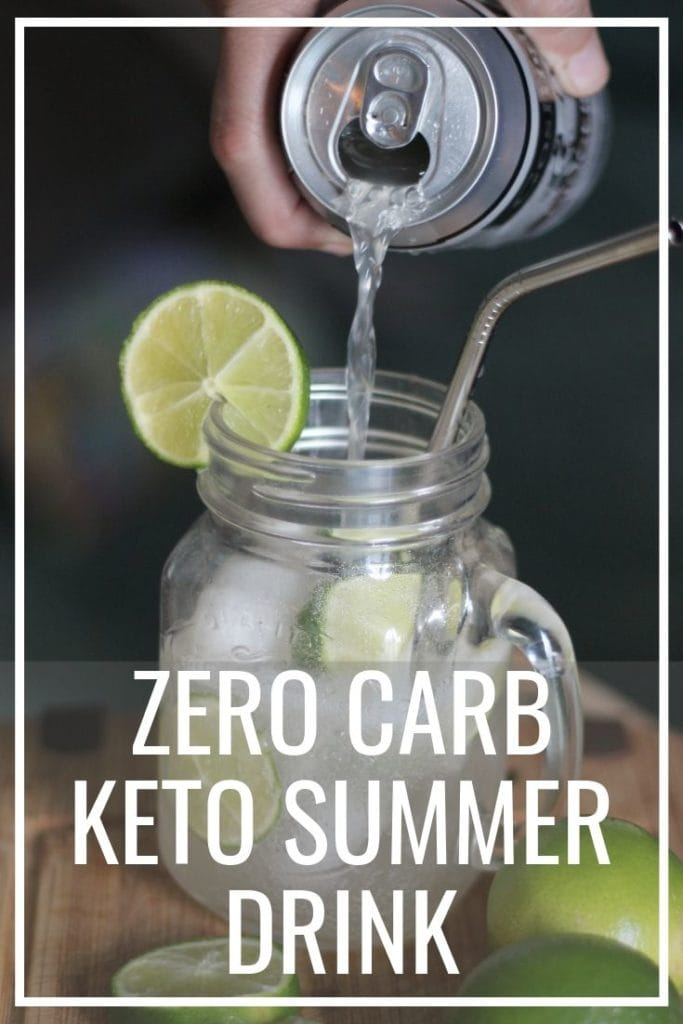 Zero Carb Keto Summer Drink will make your summer memorable! I love this zero Carb Moscow Mule because it has so much flavor and it is low carb. Keep your Keto diet and drink alcohol this summer.