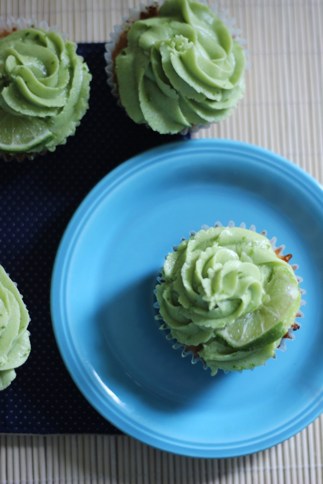 Keto Key Lime Cupcake