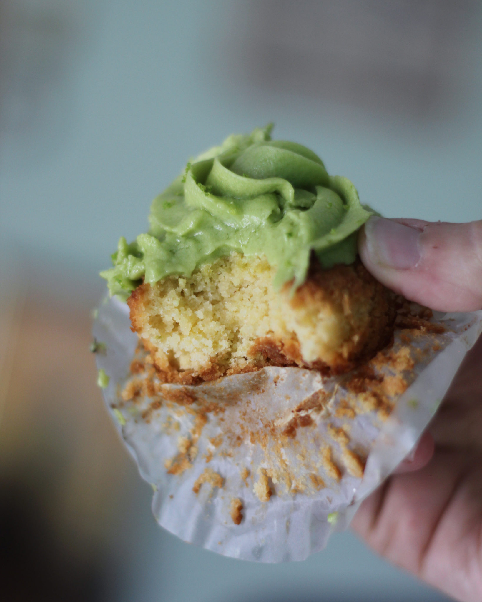Keto Key Lime Cupcakes