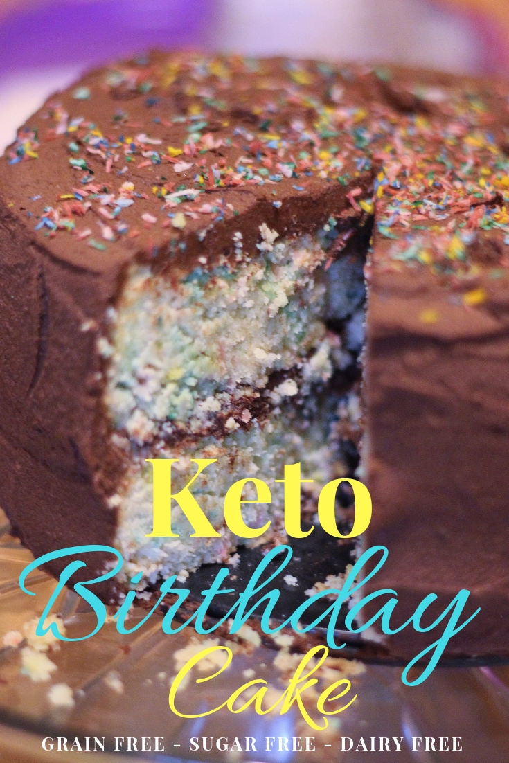 Superb Keto Birthday Cake Grain Free Sugar Free Dairy Free Personalised Birthday Cards Petedlily Jamesorg