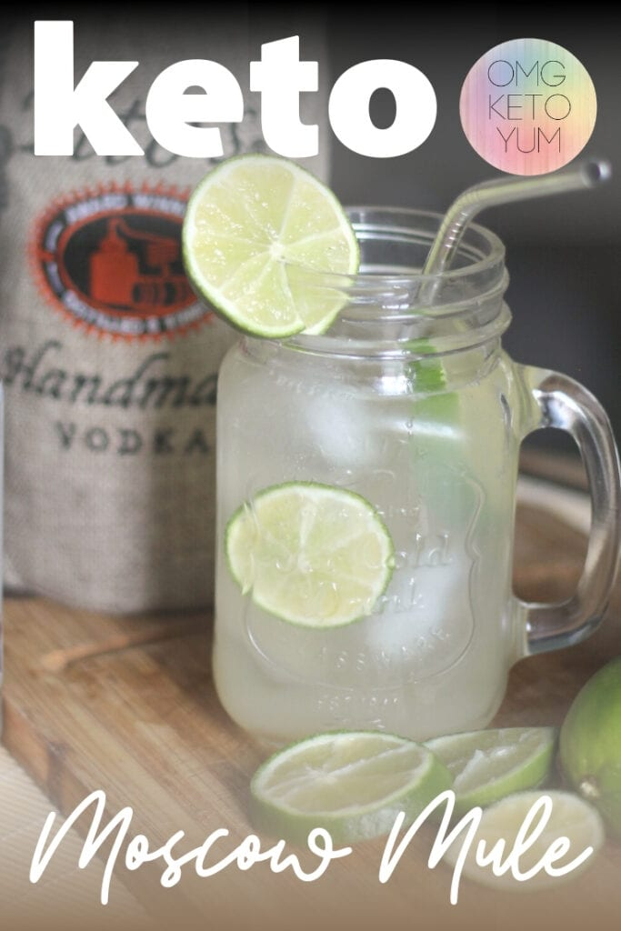 Low Carb Moscow mule that is perfect for your keto diet. Keep your summer fun and maintain your keto diet by trying this extremely low carb Moscow Mule. With only one carb per drink your going to love it!