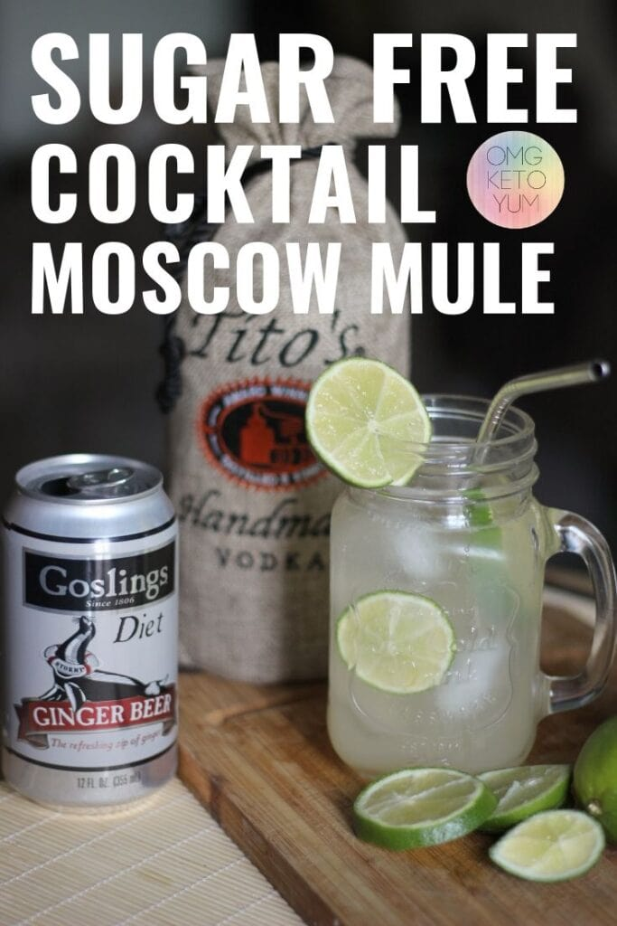 This sugar free Cocktail is perfect for your keto diet. Sugar Free Moscow mule that is perfect for your keto diet. Keep your summer fun and maintain your keto diet by trying this extremely low carb Moscow Mule. With only one carb per drink your going to love it! Sugar Free Alcoholic cocktail? Look no further!