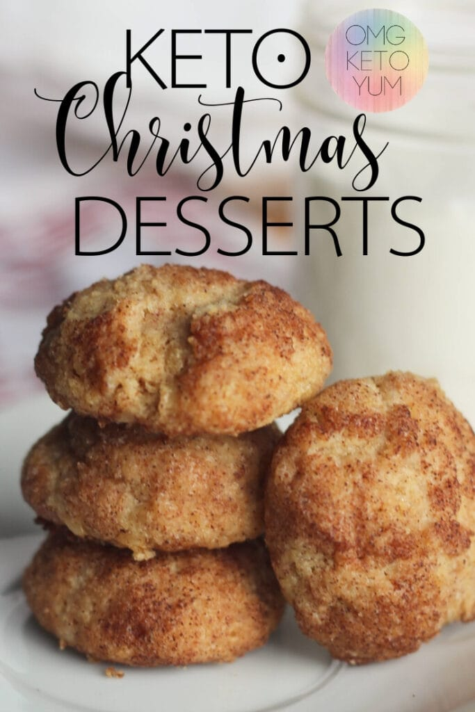 Keto Christmas Desserts! Make these Keto Christmas desserts for your family. Even if they are not low carb they will love these low carb Christmas Dessert!