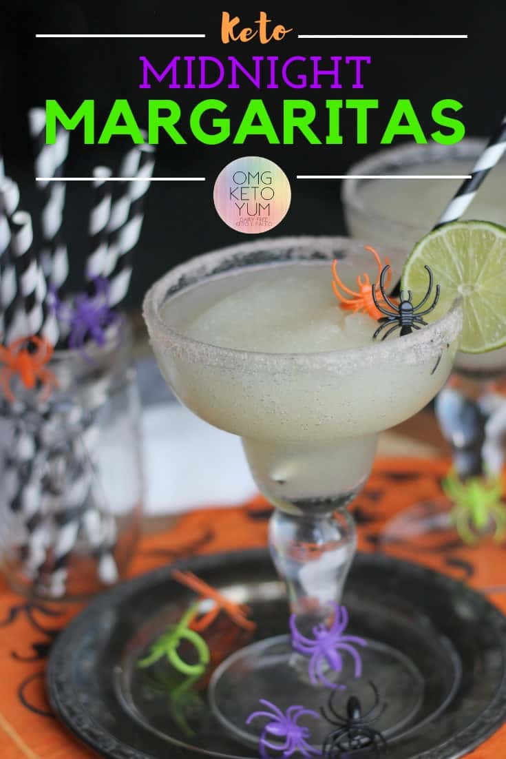 Keto Margaritas : Make these Midnight Margaritas Keto Style Tonight