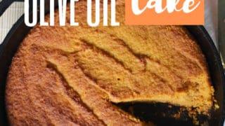 Pumpkin Olive Oil Cake: Sugar, Grain, Coconut & Dairy Free Keto Cake