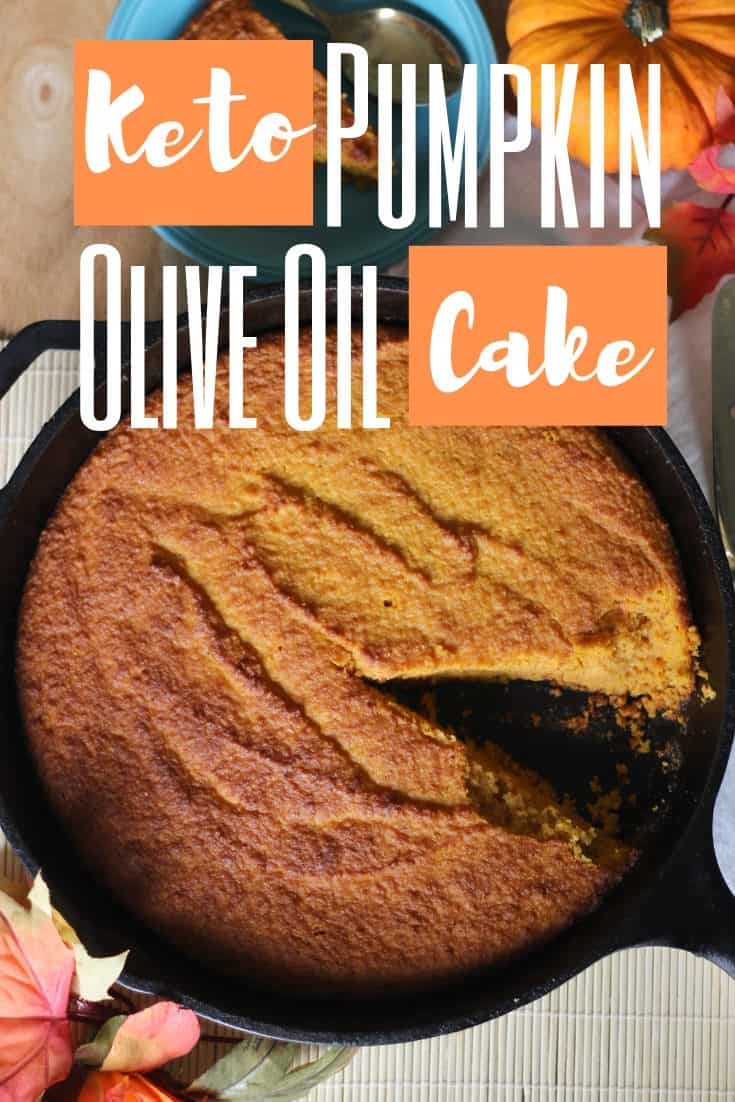 Pumpkin Olive Oil Cake - Dairy, Sugar, Grain and coconut free! Happy Fall!