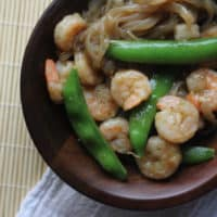 Sweet and Saucy Shrimp with Green Beans: Keto Shrimp dinner in 30 minutes!