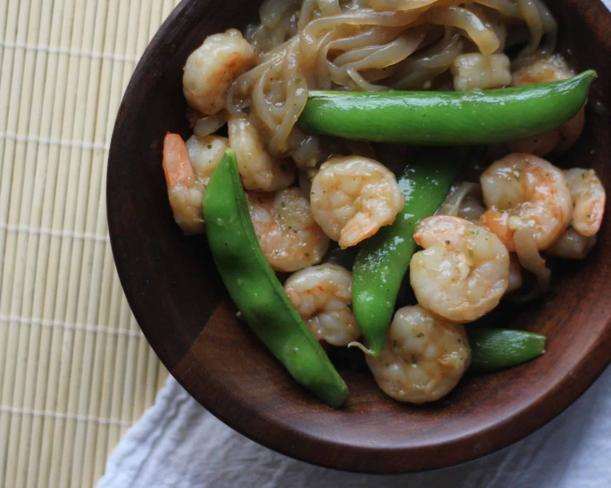 Sweet and Saucy Shrimp with Green Beans: Keto dinner in 30 minutes!