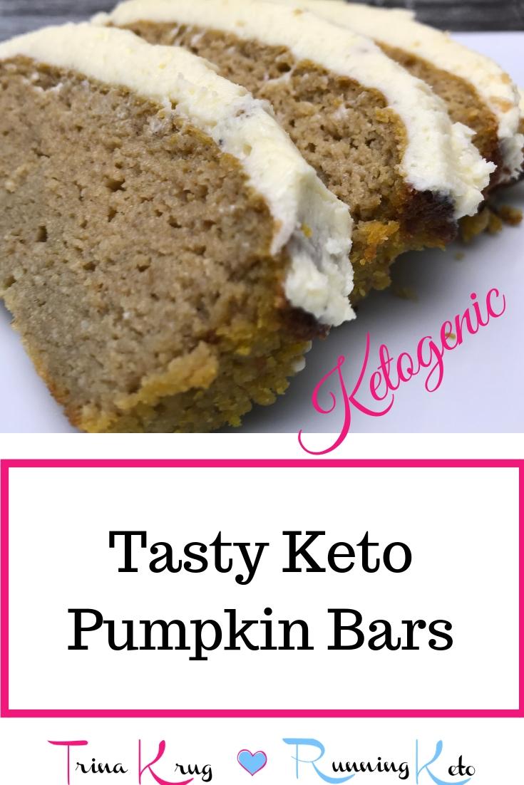Tasty Keto Pumpkin Bars