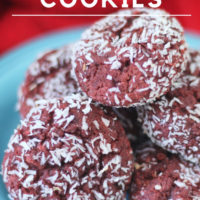 Keto Red Velvet Cookies : Grain, Sugar and Dairy Free