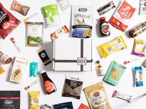 Save 15% use code OMGKETOYUM for a monthly curated selection of keto snacks.