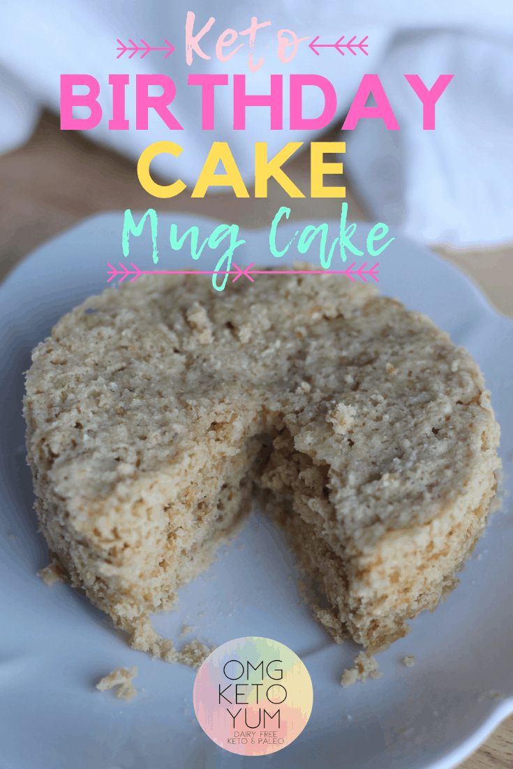 Birthday Mug Cake Make This Eggless In Minutes