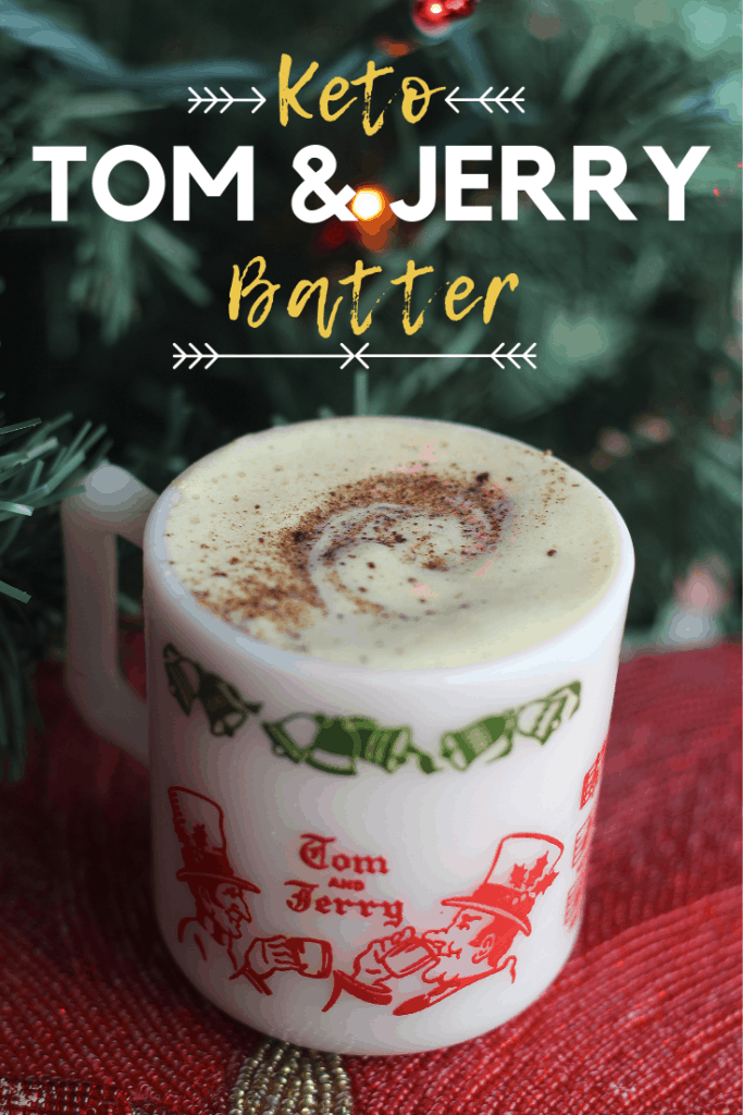 keto Tom and Jerry Batter