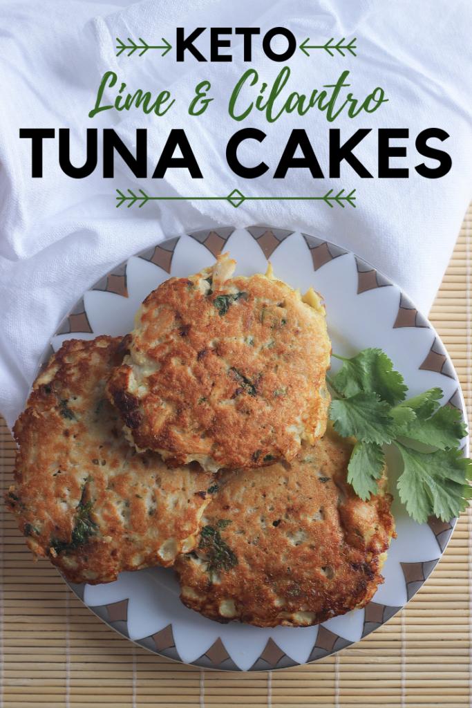 Cilantro and Lime Tuna Cakes