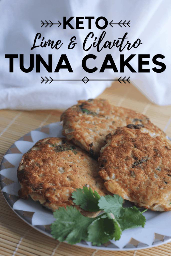 Cilantro Lime Tuna Cakes