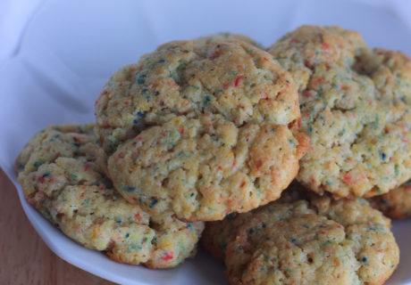 keto Birthday Cake Cookies