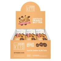 Peanut Butter Chocolate Keto Bars