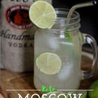 Keto Moscow Mule: Sugar Free Keto Alcoholic Drinks