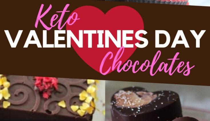 Keto Valentines Day Chocolates