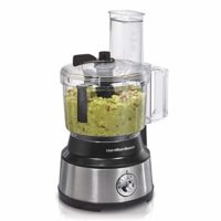 Hamilton Beach (70730) Food Processor & Vegetable Chopper with Bowl Scraper, 10 Cup, Electric