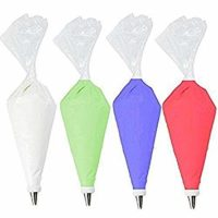 Pastry Bag -50 Pack-16-Inch Extra Thick Large Cake/Cupcake Decorating Bags-Disposable Icing Piping Bags Set