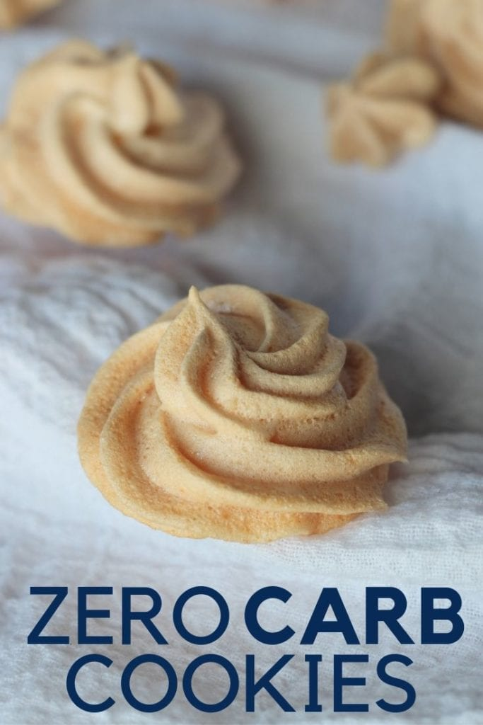 These zero carb cookies are keto and so good! You will love the light curunch on the outside and did I say before that they are ZERO carbs?