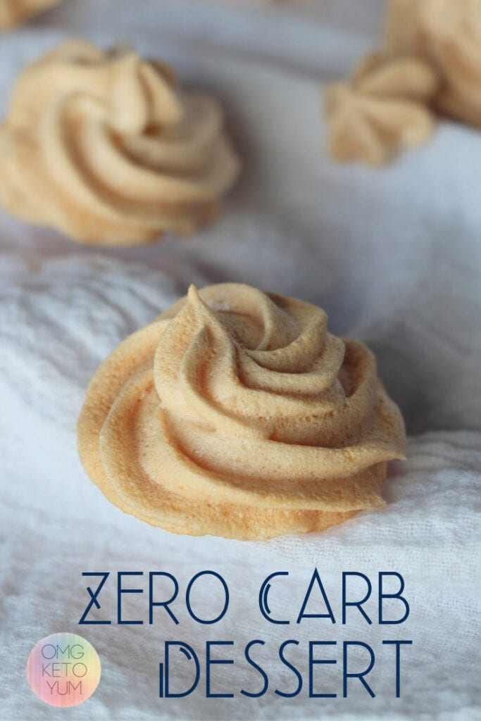 Low Carb cookies that are zero carbs and taste great! Keep your keto diet in check with these zero carb cookies.