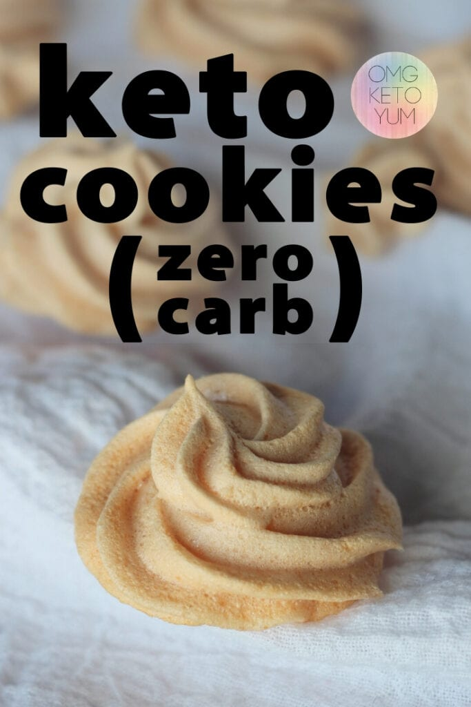 Low Carb Almond Cloud Meringue Cookies. These cookies are light and dreamy with a hint of almond and of course sugar free! This zero carb keto cookie recipe is a great way to start a keto diet.