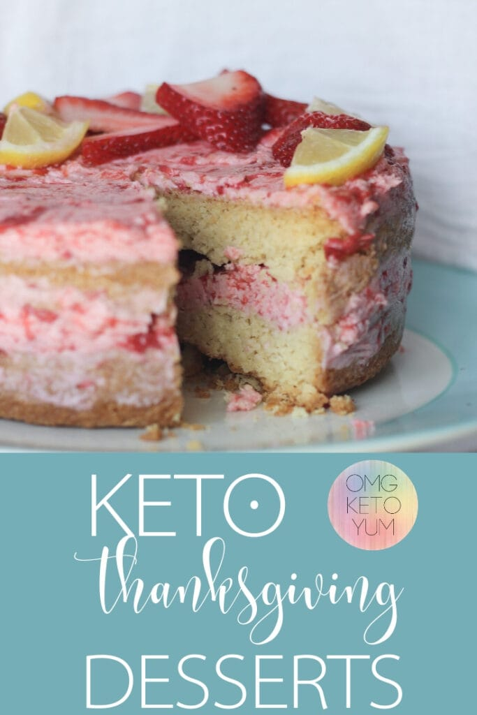 Keto Thanksgiving Desserts that are easy to make and low carb. Make this easy keto thanksgiving dessert for your next low carb thanksgiving. Even your non-keto family will approve of this keto thanksgiving dessert recipe!