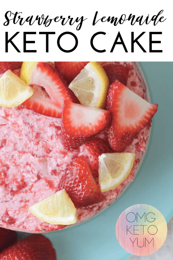 Keto cake that is easy to make and low carb. Make this easy keto dessert for your next low carb celebration. Even your non keto family will approve of this keto dessert recipe!