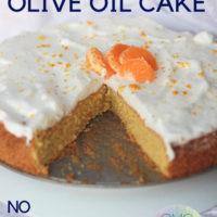 Orange Olive Oil Cake: Keto Olive Oil Cake with Orange and Cardamon