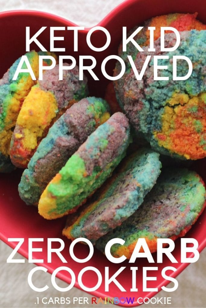 Kid Approved Zero Carb keto cookies. Make your keto kid happy with this zero carb cookie.
