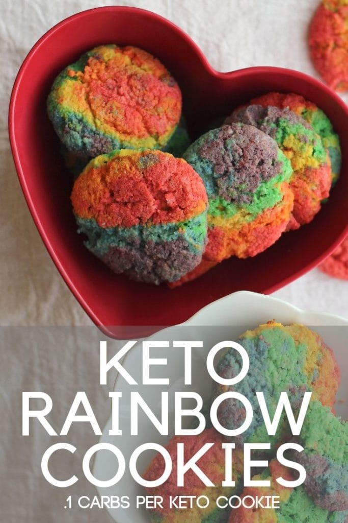 Only .1 carbs per cookie! Yummy and low carb and made with simple ingredients too!