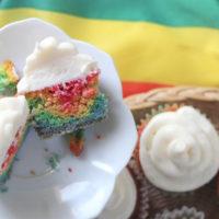 Rainbow Cupcakes: Keto Rainbow Cupcakes